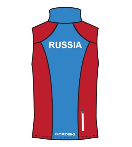 Nordski National мужской лыжный жилет red