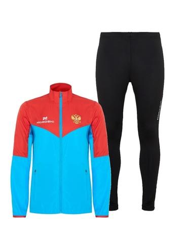 Nordski Sport Premium костюм для бега мужской blue-black