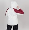 Теплая лыжная куртка женская Nordski Premium Sport cream-wine - 2