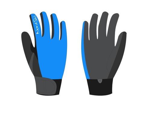 Nordski Racing WS Jr детские лыжные перчатки синие