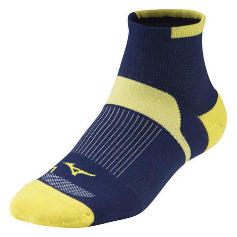 Mizuno Drylite Race Mid носки синие-желтые