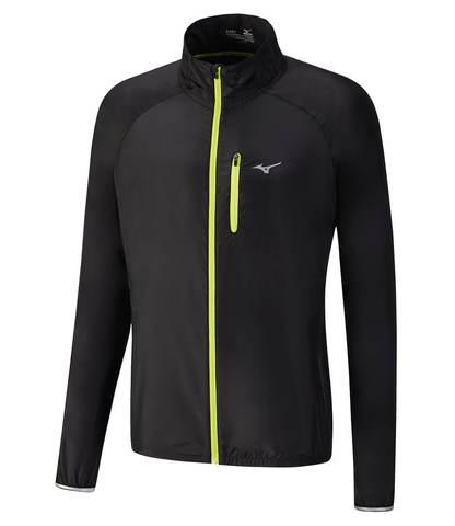 Куртка для бега мужская Mizuno Impulse Impermalite черная