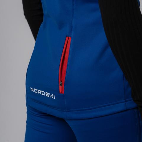 Nordski Premium Patriot лыжный жилет женский