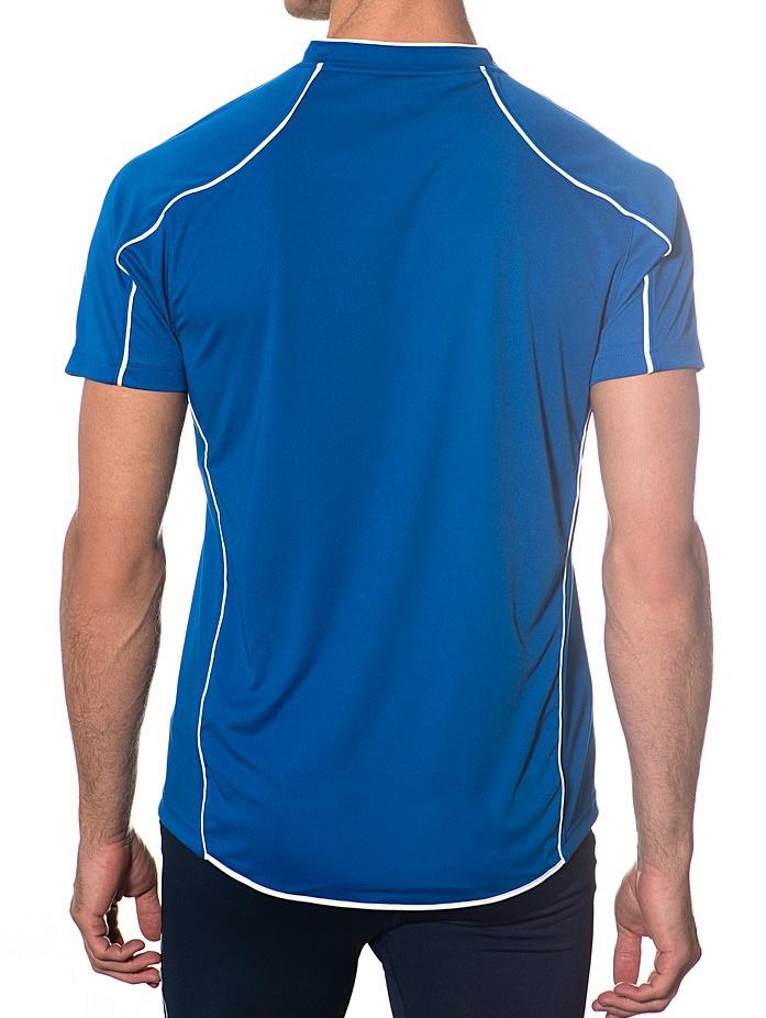 Волейбольная футболка Asics T-shirt Volo мужская синяя - 2
