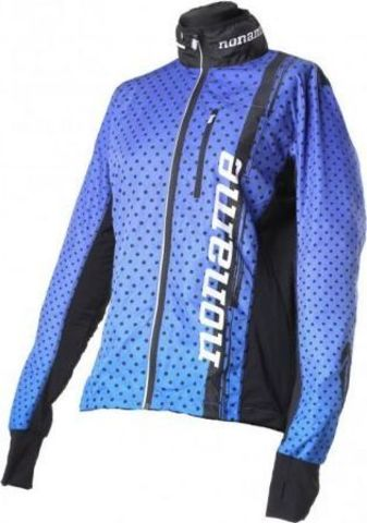 Noname Running Jacket Plus Clubline JR беговая куртка детская синяя