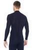 Brubeck Wool Merino мужской комплект термобелья синий - 4