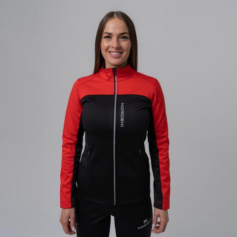 Nordski Active Base женский беговой костюм red