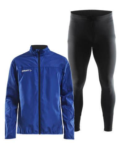Craft Rush Active костюм для бега мужской blue