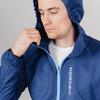 Nordski Run куртка для бега мужская Navy-Blue - 4