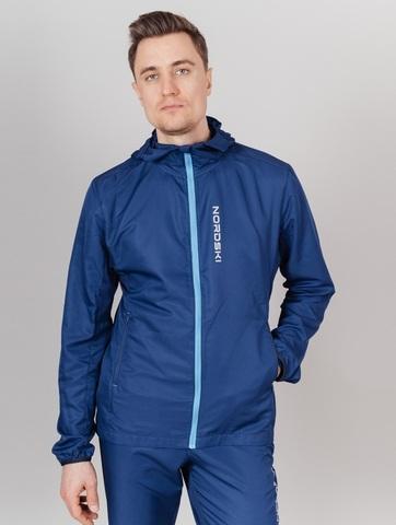 Nordski Run куртка для бега мужская Navy-Blue