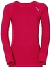 Odlo X-Warm детская термофутболка с длинным рукавом розовая - 1