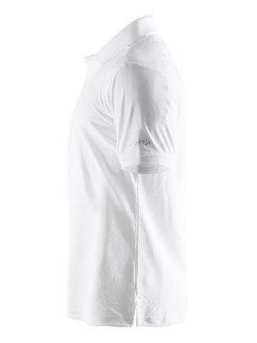 Craft Pique футболка-поло мужская белая