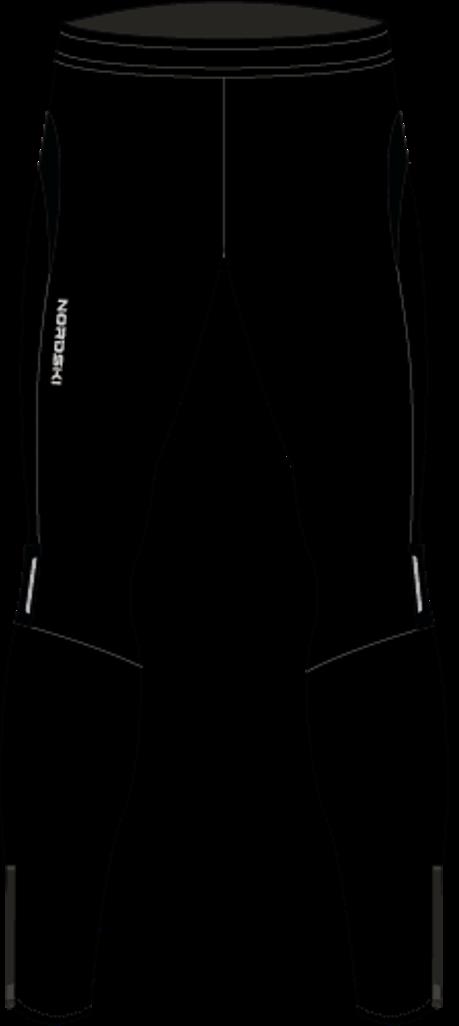 Nordski Jr Premium тайтсы для бега детские Black - 9