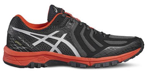 Кроссовки-внедорожники для бега мужские Asics Gel Fuji-Attack 5 GT-X серые-оранжевые