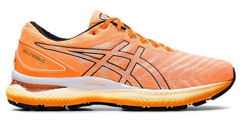 Asics Gel Nimbus 22 кроссовки для бега мужские оранжевые