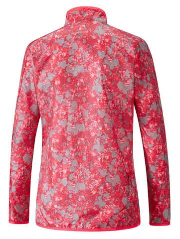Беговая куртка женская Mizuno Aero розовая