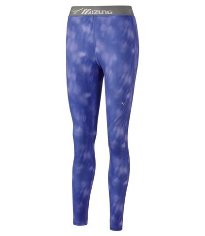 Mizuno Impulse Core Long Tight тайтсы для бега женские синие