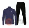Asics Silver Woven костюм для бега мужской синий-черный - 1